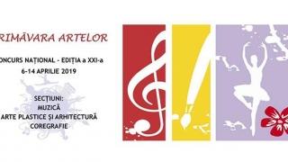 Serie de activități artistice desfășurate în cadrul Primăverii Artelor 2019