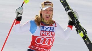 Prima victorie pentru Lara Gut, după grava accidentare din sezonul trecut