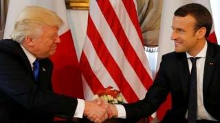 Prima vizită oficială a lui Donald Trump în Franța
