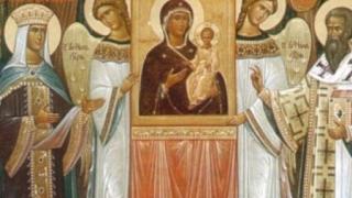 Procesiune a icoanelor în Duminica Ortodoxiei
