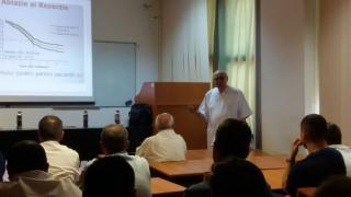 Prof. dr. Irinel Popescu, la SCJU Constanța