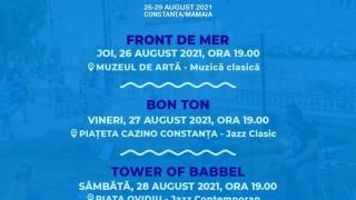 Programul Festivalului JazzUP Sea