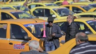 5.000 de transportatori protestează împotriva Uber