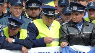 Polițiștii ies în stradă de Ziua Poliției Române