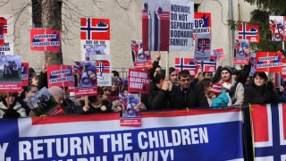 Protest în Capitală, cu participanți și din Constanța, pentru familia Bodnariu