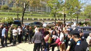 Protest la Ministerul Mediului: angajații Gărzii de Mediu și ai Agenției de Mediu amenință cu greva