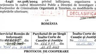 FACIAS a sesizat Parchetul General şi acuză fals şi uz de fals în protocolul SRI-PÎCCJ-ÎCCJ