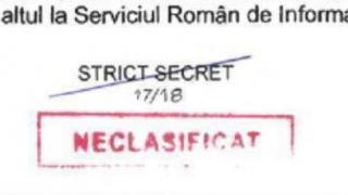 CCR a stabilit: Este competența Guvernului să stabilească declasificarea protocoalelor SRI