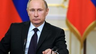 Vladimir Putin, învestit astăzi pentru a patra oară în funcţia de preşedinte al Rusiei