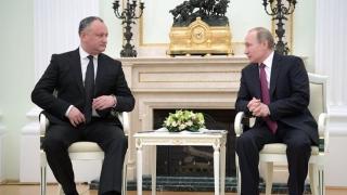 Putin și Dodon au organizat viitorul Transnistriei. Bătăi pe umăr şi cuvinte dulci