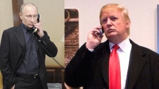 Trump și Putin au discutat despre situația din Siria