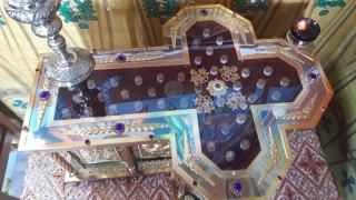 Slujbă de hram la Mănăstirea Colilia. Nașterea Sf. Ioan Botezătorul