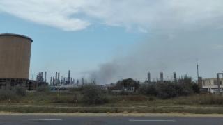 Incendiul de pe platforma Petromidia nu a fost precedat de explozie