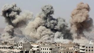 Zeci de civili au murit în urma unui raid aerian rusesc în Siria