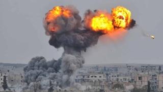 Raiduri aeriene turce asupra unui oraș sirian controlat de SI