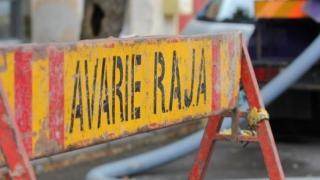 Avarie RAJA, pe strada Nicolae Iorga din Cernavodă