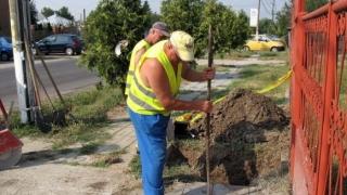 Constanța: Avarie RAJA la intersecția străzilor Unirii cu Zorelelor!