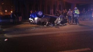 Accident rutier cu patru victime, în urma răsturnării unei mașini în Constanța!