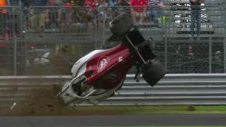 Accident grav în F1: Pilotul Marcus Ericsson s-a răsturnat de mai multe ori