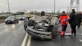 Accident cu victime, pe podul rutier de la Ovidiu către Lumina