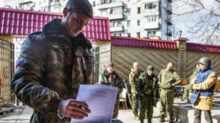 Noul armistițiu din Ucraina a fost încălcat. Un rebel a fost ucis în Est
