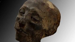"""The Mummy Returns"": Fața și creierul unei demnitar egiptean mumificat, reconstituite"
