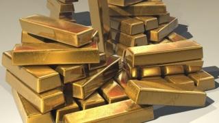 Preţul aurului a atins al patrulea maxim istoric la rând
