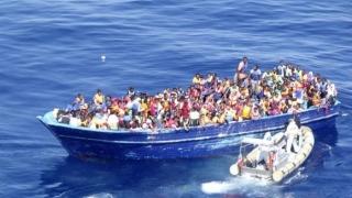 Marina italiană a salvat pe Marea Mediterană 290 migranți, recuperând alte 6 trupuri
