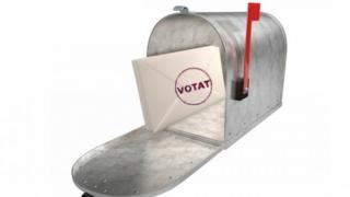 10% din voturile prin corespodenţă, anulate. Certificatul de alegător nu s-a regăsit în plicul mare