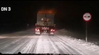 Restricție de tonaj (7,5 tone) pe DN 3 între Ostrov și Cobadin, din cauza vizibilității reduse