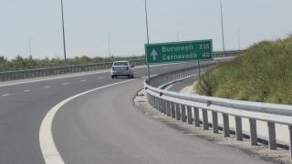 Traficul rutier pe autostrada Bucureşti-Constanţa, restricţionat din cauza unui accident