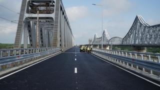 S-au ridicat restricțiile de circulație pe Podul peste Dunăre de la Cernavodă