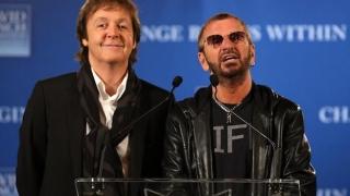 Prima colaborare de studio între Paul McCartney și Ringo Starr, după șapte ani