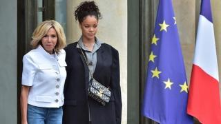 """Rihanna, la Palatul Elysée: """"președintele și prima doamnă, incredibil de primitori"""""""