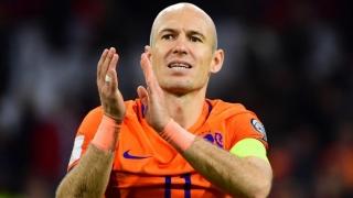 Robben s-a retras din naționala Olandei, la 33 de ani