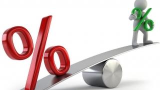 Indicele ROBOR la 3 luni a stagnat la 3,10%