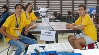 Trei liceeni au reprezentat Medgidia la Robotics Summer Camp