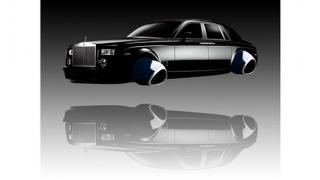Taxi zburător marca Rolls-Royce?