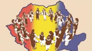 România în sărbătoare, cu elevi ai Liceului Teoretic Traian