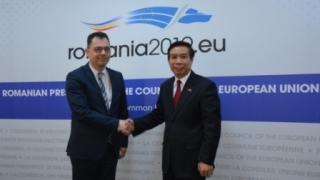 România susţine semnarea Acordului de Liber Schimb între UE și Vietnam