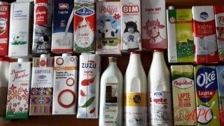 Românii consumă lapte din Ungaria care expiră în august 2019!