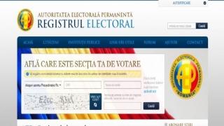 9.116 alegătorii români s-au înscris în Registrul electoral