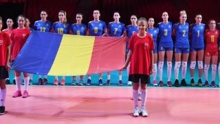 A doua victorie a voleibalistelor tricolore la Campionatul European
