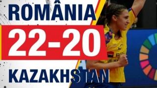 La CM de handbal feminin, România a obţinut o victorie chinuită în faţa Kazahstanului