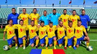 România, succes categoric în primul meci de la CM de minifotbal