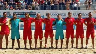 România a încheiat cu zero puncte primul turneu din Euroliga de fotbal pe plajă