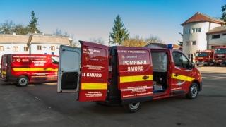 Două noi centre mobile de instruire pentru paramedicii SMURD!
