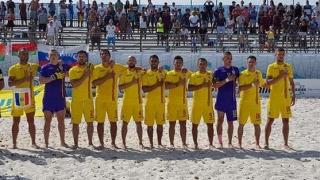 România, la o... bară de revenirea în Divizia A din Liga Europeană la fotbal pe plajă