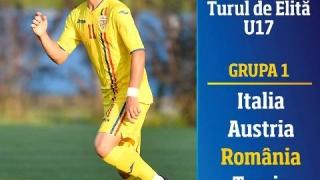România U19 și U17 și-au aflat adversarele din Turul de Elită pentru Campionatul European de fotbal