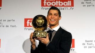 "Cristiano Ronaldo a primit ""Balonul de Aur"" 2016"